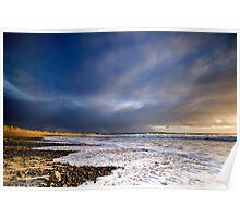 Culla Bay, Benbecula, Scotland Poster