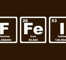 Caffeine - Periodic Table Sticker