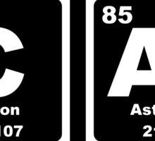 Cat - Periodic Table Sticker