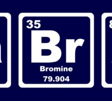 Lab Rat - Periodic Table Sticker
