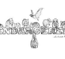 Endangered Australian Animals by Lou Endicott