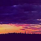 Manhatten Morn by David Alexander Elder