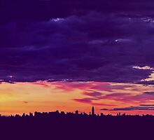 Manhatten Morn by David Alexander Elder