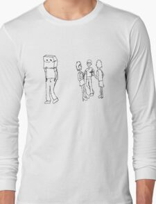 Lonely bag head boy Long Sleeve T-Shirt