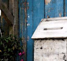 Wooden Mailbox Sticker