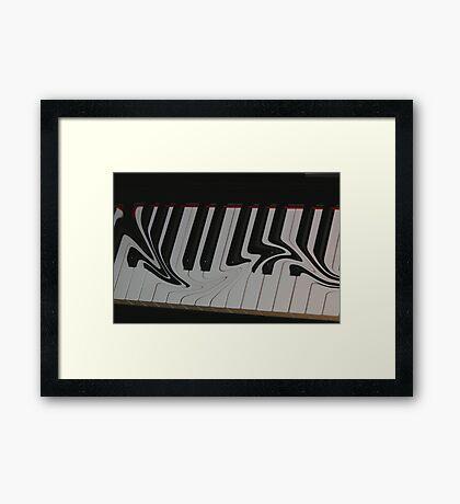 Stiletto Keys Framed Print