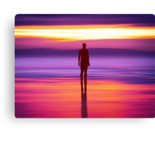 Merseysides Mystical Another Place Canvas Print