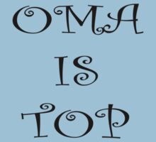 Oma is top One Piece - Short Sleeve
