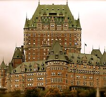 Chateau Marmont, Quebec Canada by sashabree