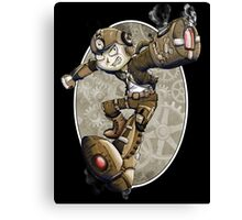 Steampunk Mega Man Canvas Print