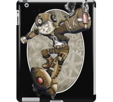 Steampunk Mega Man iPad Case/Skin
