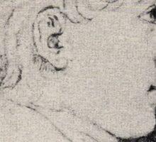 Ludwig Emil Grimm Ferdinand grimm Sticker