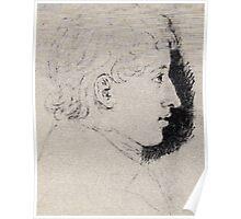 Ludwig Emil Grimm Ferdinand grimm Poster
