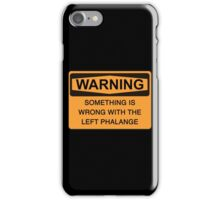 left phalange c iPhone Case/Skin