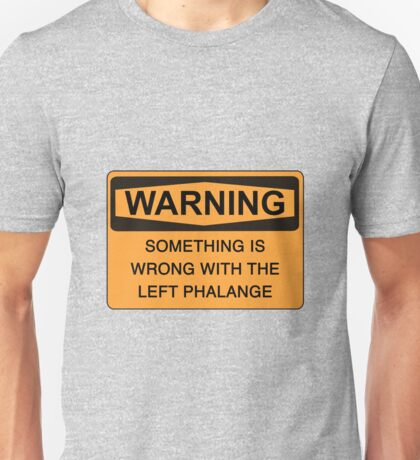 left phalange c Unisex T-Shirt