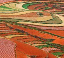 Dongchuan Red Land 01 Sticker
