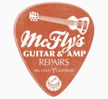 McFly's Repairs - Sticker by rubyred