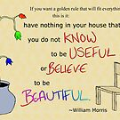 William Morris Illustrated Quote by Charlotte Utton