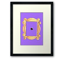 friends tv door Framed Print