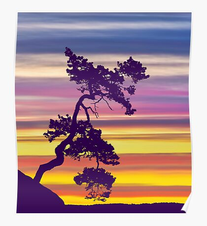 One Tree Hill Sunrise Poster