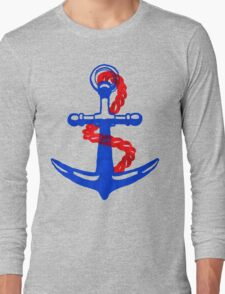 So why were you so anchorless?  Long Sleeve T-Shirt