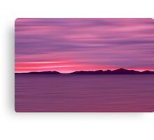 Outer Hebrides Dusk Canvas Print