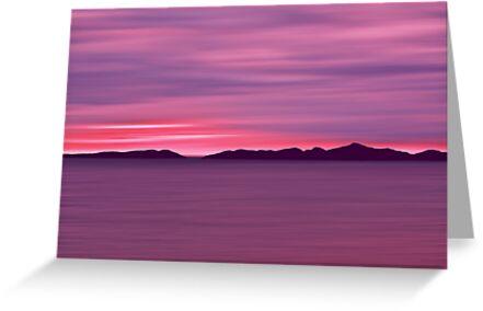 Outer Hebrides Dusk by David Alexander Elder