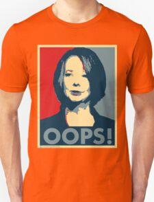 Julia OOPS Unisex T-Shirt