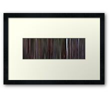 Moviebarcode: Reservoir Dogs (1992) Framed Print