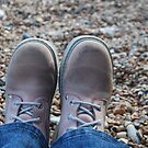 These Boots were made for walking... by Geraldine Miller