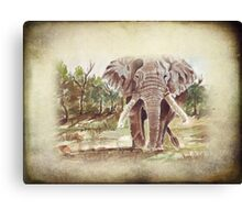 Africa's Giant Canvas Print