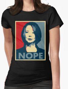 Julia Gillard - Nope Womens Fitted T-Shirt