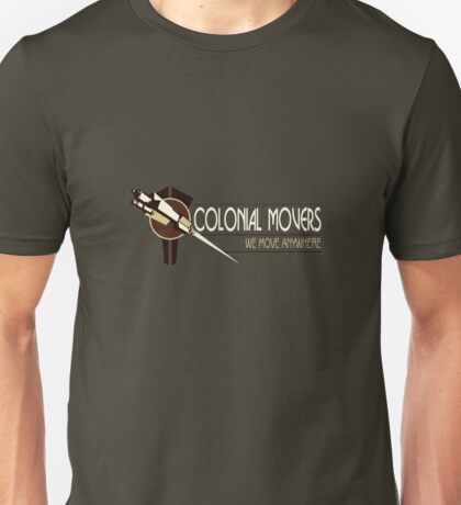Colonial Movers - Brown Unisex T-Shirt