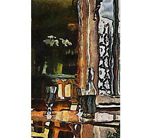 Vincent's table? Auberge Ravoux, France Photographic Print
