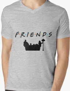 Friends TV Show  Mens V-Neck T-Shirt