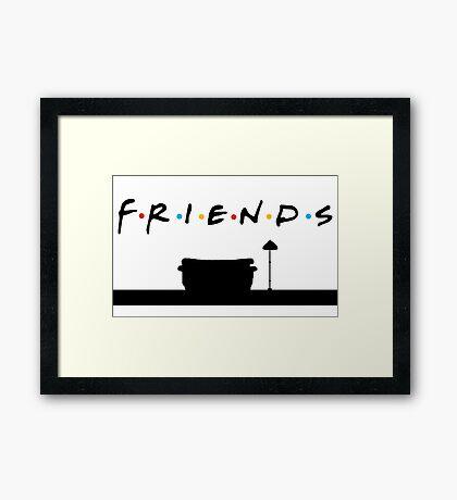 Friends TV Framed Print
