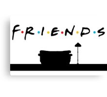Friends TV Canvas Print