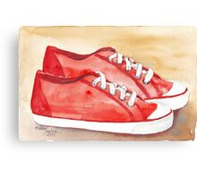 My favourite pair of sneakers Canvas Print