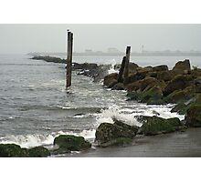 Damon Point State Park, Ocean Shores, Washington Photographic Print