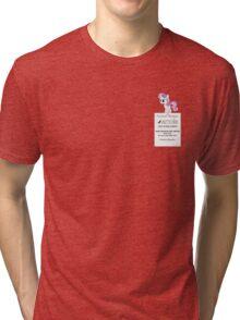 Dumb Fabric - Washing Instructions Tri-blend T-Shirt