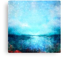 Ease Down By the Lagoon Canvas Print