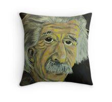 Innovators - Einstein Throw Pillow