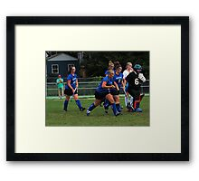 091611 026 0 field hockey Framed Print