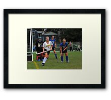 091611 042 0 field hockey Framed Print