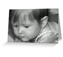Millies 1st Birthday Greeting Card