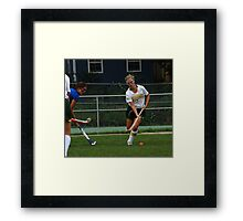 091611 065 0 field hockey Framed Print