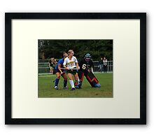 091611 068 0 field hockey Framed Print