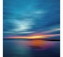Sunburst Sunset Photographic Print