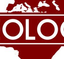 Geology- Shaping the World Since 4.54 Ga Sticker
