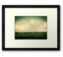 This is love... to fly toward a secret sky. ~Rumi Framed Print